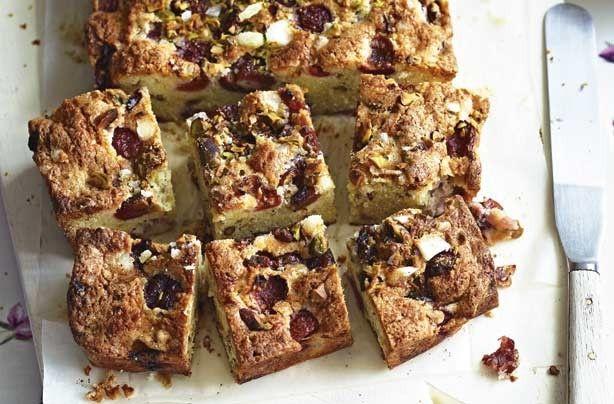 Fruit fingers - 40 easy tray bake recipes