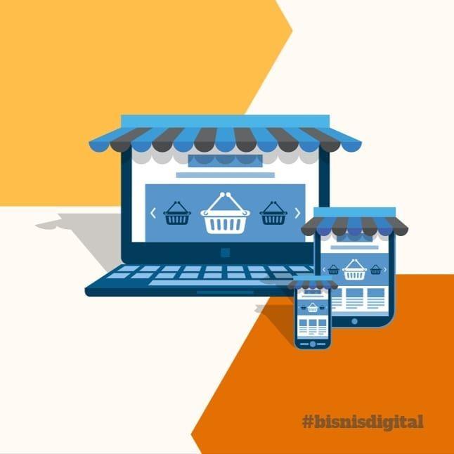 Online-kan bisnis Anda sekarang!... in 2020 | Web design ...