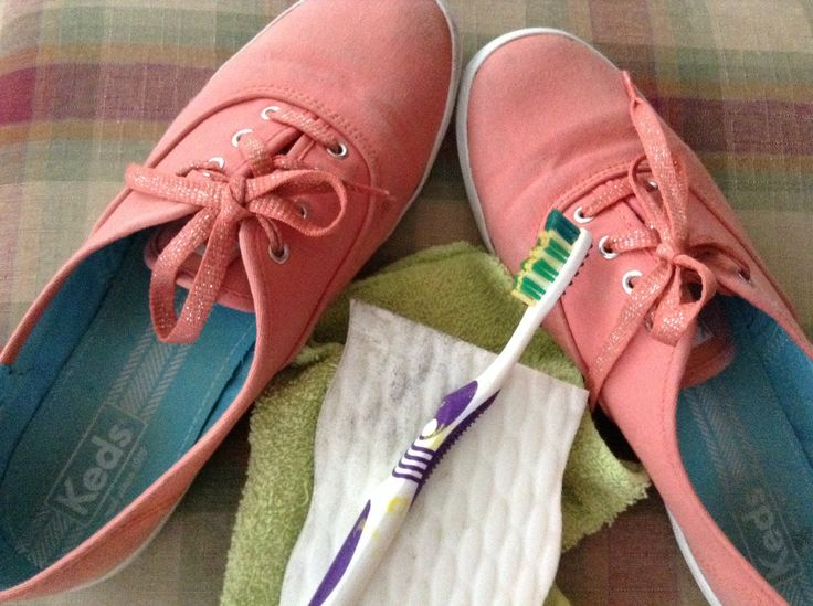 how to clean your keds use warm water mixed with dish