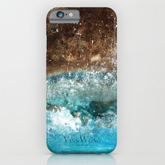 Beach inspired slim abstract phone case design for iPhone 6, iPhone 5S/C, iPod Touch, Galaxy s6/s5/s4 | International Shipping | Full collection www.vinnwong.com | Click to Shop or Pin it For Later!