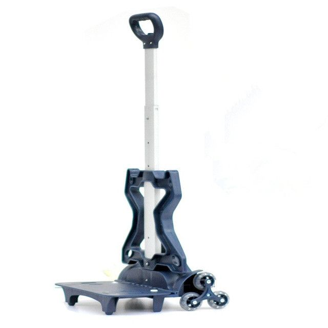 New Aluminum alloy Pull Rod Bracket Roll Cart Trolley School Bag easy climb stairs, mochila infantil rodinha mochilas 6 wheels