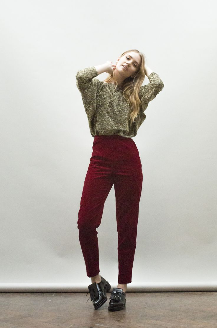 1960's  burgundy velvet trousers by Emilio Pucci. http://www.nordicpoetry.co.uk/vintage-1960-s-emilio-pucci-velvet-trousers