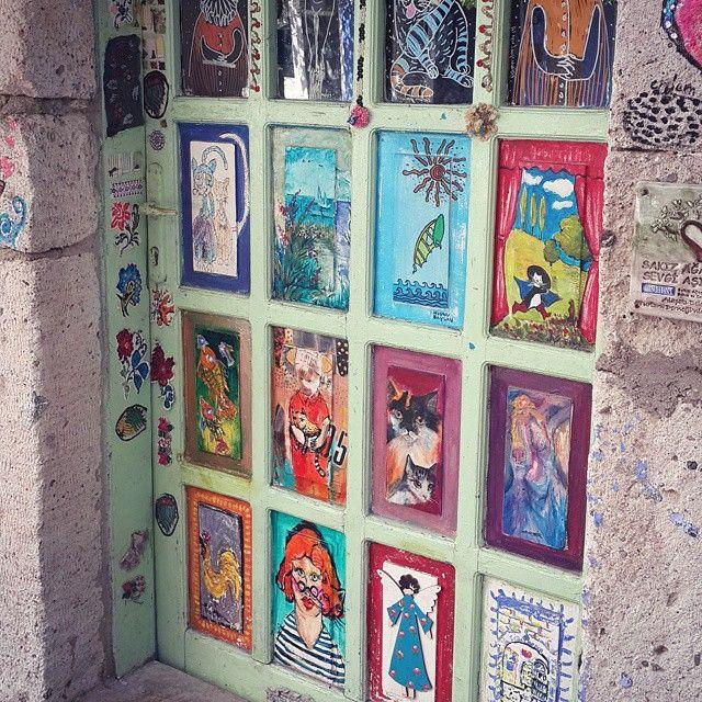 Door in Alaçatı Turkey