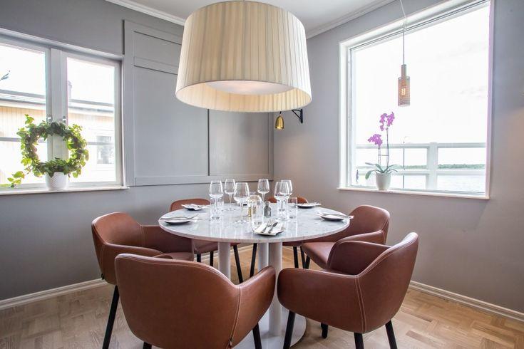 Myra 2.2 Chairs at The Strandhotellet, Öregrund, Sweden.