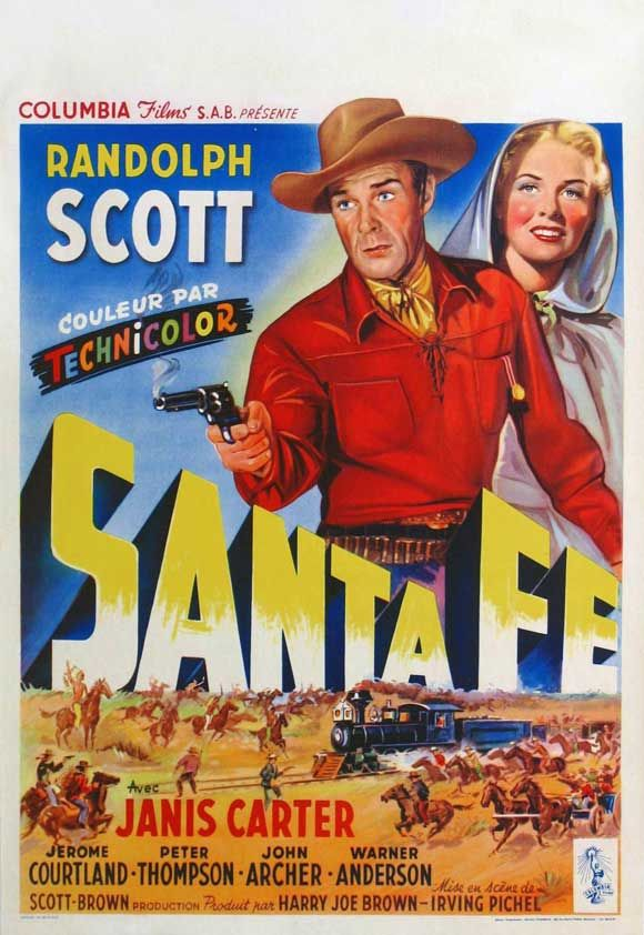 love old movie posters santa fe my new mexico my