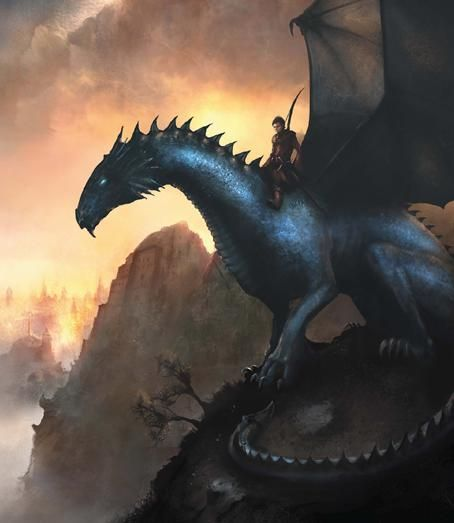 dragonsdragonseverywhere:    The swedish book cover for Eragon. I have to say that I prefer this one. :> Creator: Martin Bergström