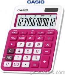 Casio MS-20NC-RD Koyu Pembe Hesap Makinesi (12 Haneli) http://www.garantiofis.com/casio-ms-20nc-rd-koyu-pembe-hesap-makinesi-12-haneli