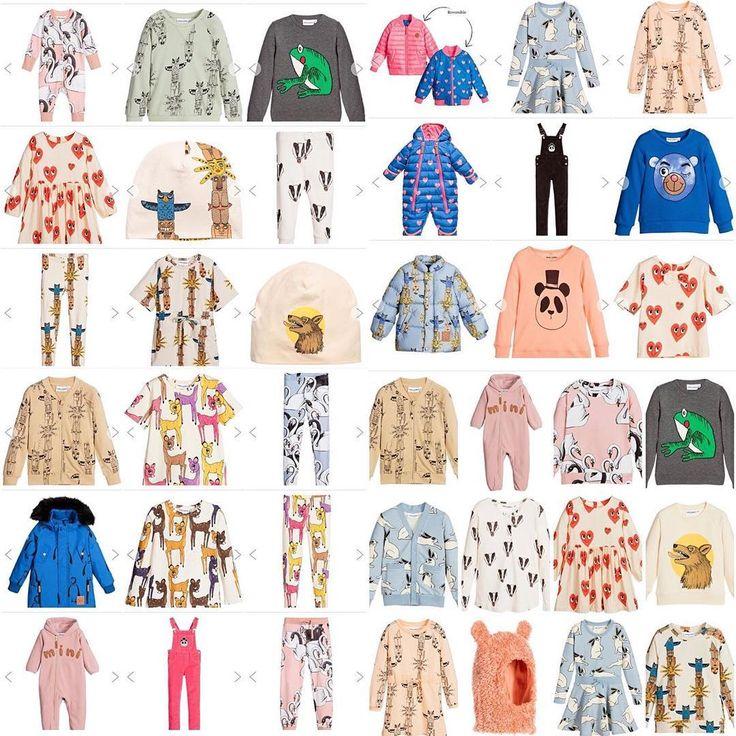Det blir en dyr höst #minirodini #minirodiniaw16 Bambikläderna kan vara något av det finaste jag sett!