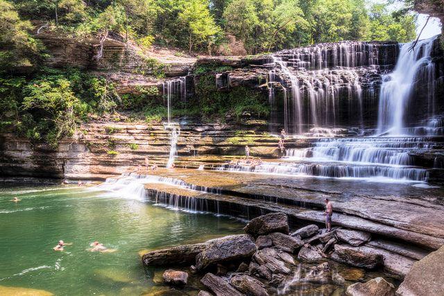 Cummins Falls, Tennessee