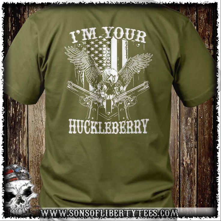 I am your Huckleberry. T-Shirt.  #Ccot #Constitution #Donttreadonme #Guns #Liberallunacy #Molonlabe #Patriot #Pc #Politicalcorrectness #Righttobeararms #Sonsoflibertytees #Teaparty
