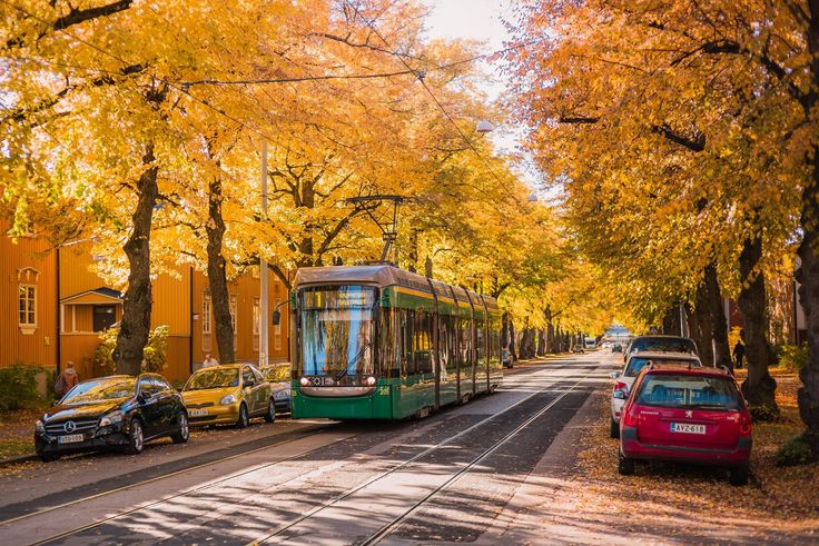 Pohjolankatu - Helsinki is a compact capital city perfectly suited for a weekend exploration.