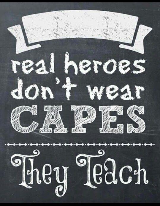 De kracht van de leraar.