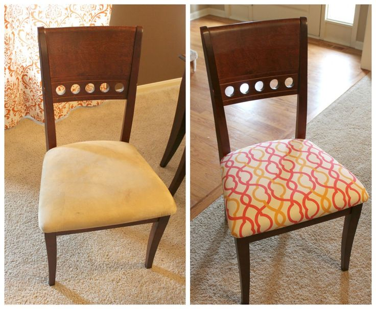Best 25 Recover Dining Chairs Ideas On Pinterest  Recover Chairs Fair Material To Cover Dining Room Chairs 2018