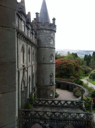 Inverary Castle, Inverary, Argyll, Scotland
