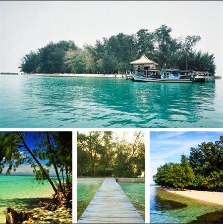 Pulau Semak Daun, part of Thousand Islands, Jakarta.