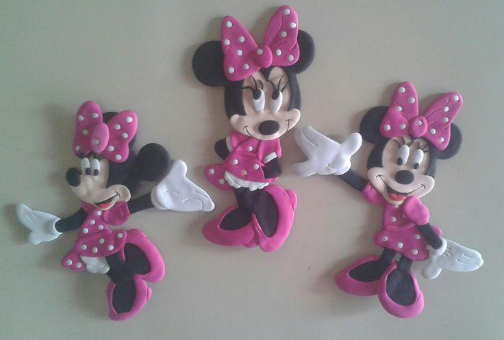Minnie Mouse. Detalles para decorar baby showers, bienvenidos, cumpleaños y más! #detallesocasionesespeciales