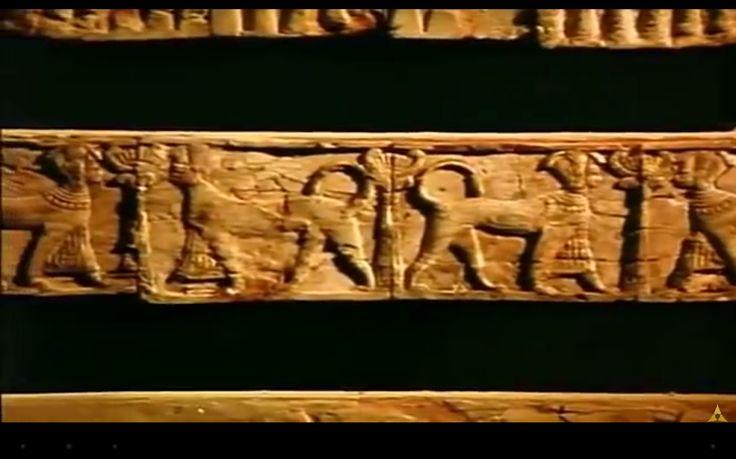 Detalhe cama fenícia