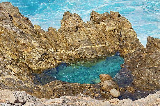 Rock Pool - Whaler's Way, Port Lincoln, South Australia by PC1134 • rock pool Australia