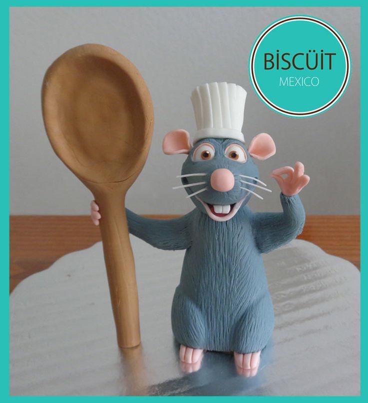 Ratatouille Cake Topper