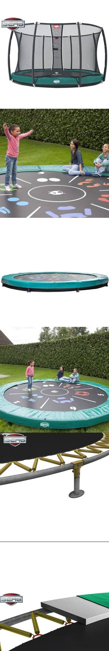 At the top of BERG's range, the Elite In-Ground Trampoline is available in a range of sizes that offer the pinnacle in bouncing technology and comfort.