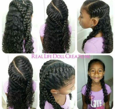 Cute Hairstyles for Mixed Curly Hair