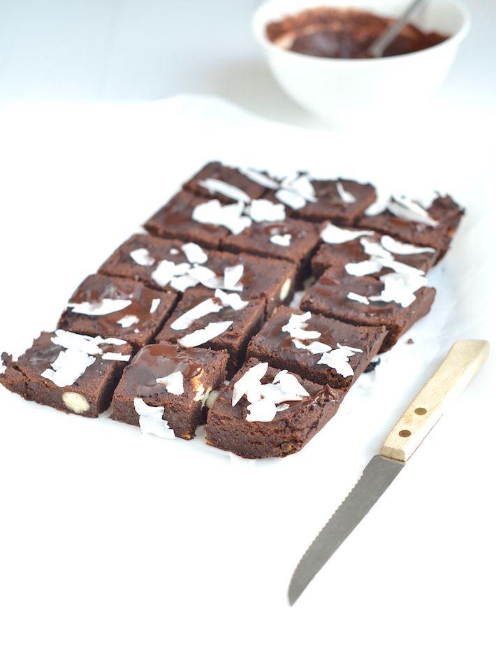 gezonde brownies zonder gluten en suiker - Rens kroes
