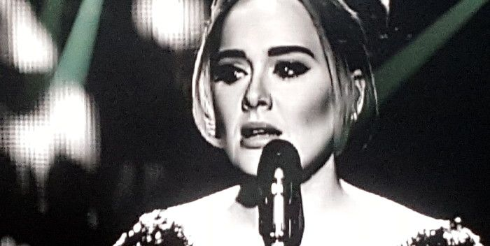Home  Music  Pop Charts: Adele Knocked Off Number 1 By Upstart Rock Group The...                    Adele's days of staying off of streaming services may be ...