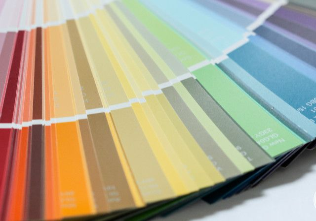 Inspired by Charm: all the paint colors he has used in his home