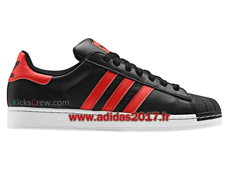... adidas superstar rouge et noir