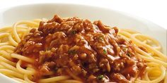 Low carb Rezepte: Spaghetti Bolognese