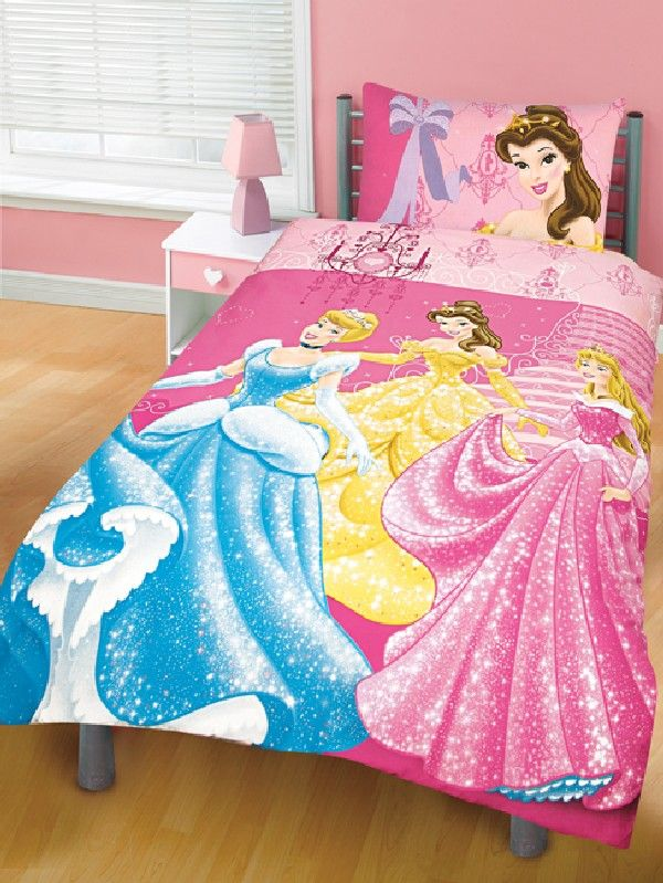 30 Charming Princess and Fairytale Inspired Sheets for Girls Bedding : Disney Princesses For Your Little Girl