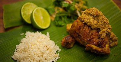 Malaysian Kelantan Grilled Chicken