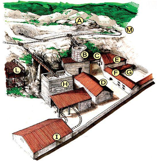 La Mappa del Museo Cava Bomba.