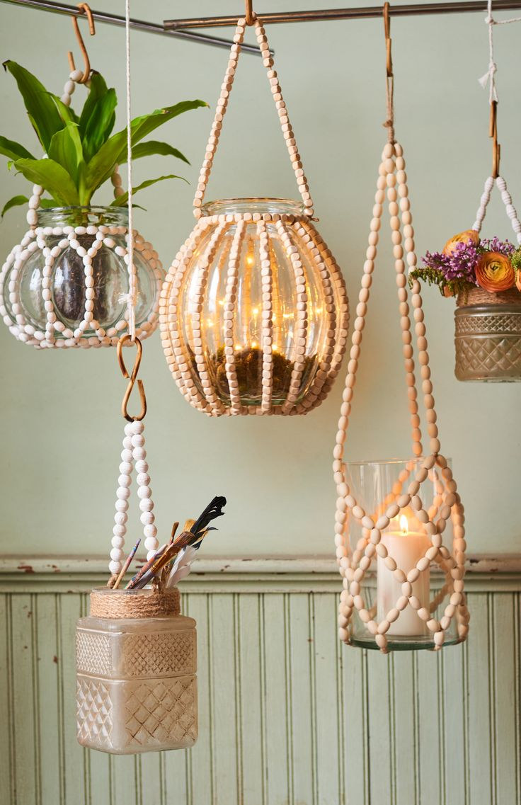 Hanging Lanterns - Earthbound Trading Company