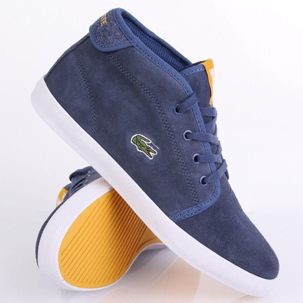 Lacoste Ampthill WCS2 SPW Blue Dark Yellow
