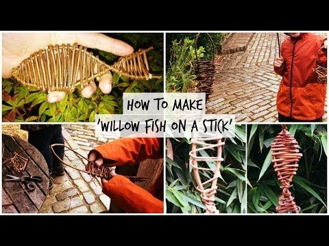 Weaving a willow sheep sculpture Part 3 - YouTube