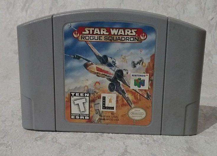 Star Wars: Rogue Squadron (Nintendo 64, 1998) great condition #Nintendo