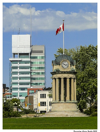 City Hall Old and New - Kitchener, Ontario