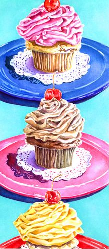 Floating Cupcakes, by Patianne Stevenson