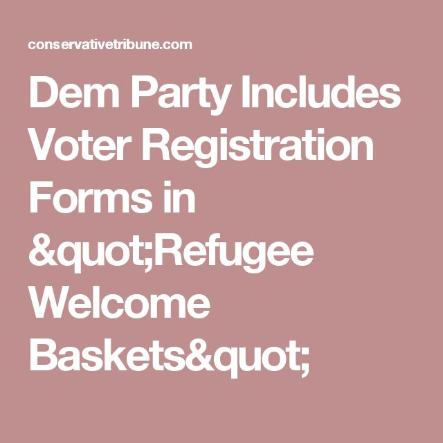 Unique Voter Registration Form Ideas On   Voter