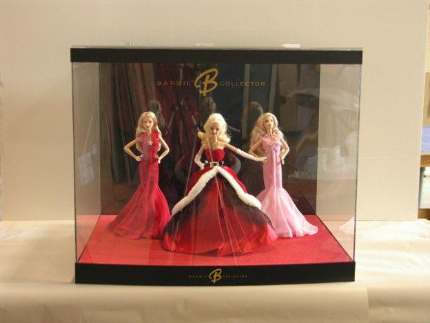 Merchandising Display Design Mattel Barbie