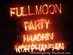 Full Moon Party, Fullmoon Party, Koh Phangan, Thailand