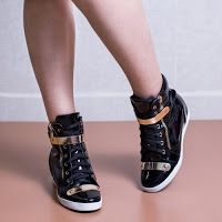 Sneakers dama Lucilla negri • modlet