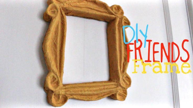 """DIY   """"Friends"""" Peephole Door Frame"""