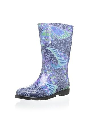 57% OFF Kamik Kid's Kelsey Rain Boot (Navy)