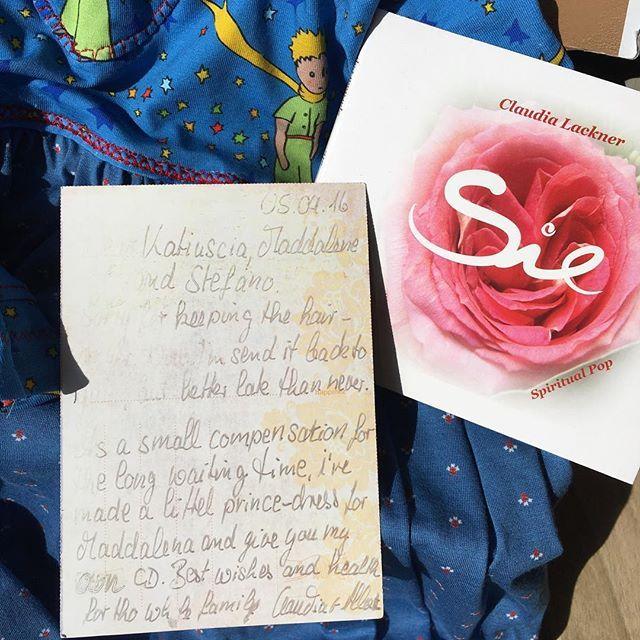Poi ti arriva un pacco con dentro questo regali dai tuoi #germanguests ... Grazie di ❤️! @bbilpiccoloprincipebieno #thelittleprince #bedandbreakfastitaly #bedandbreakfastcharme