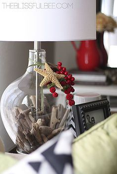 diy fillable lamp christmas in august with lamps plus and hometalk christmas decorations crafts