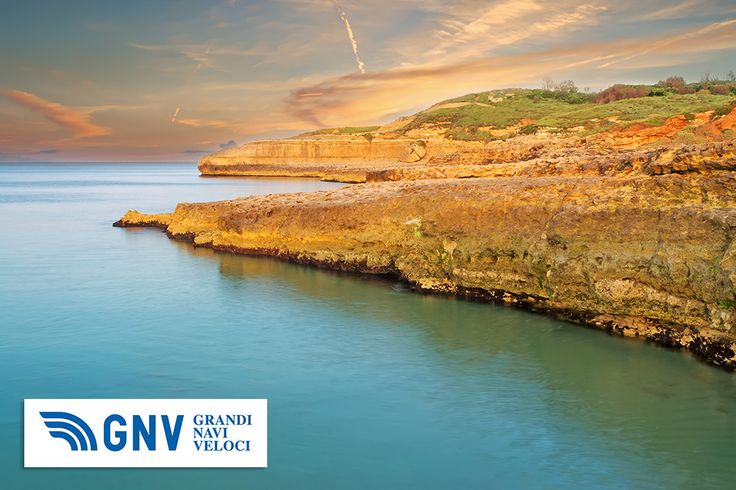 Sardinia rocky coastline at dusk. Discover #GNV routes from/to #PortoTorres here: http://www.gnv.it/en/ferries-destinations/porto-torres-ferries-sardinia.html