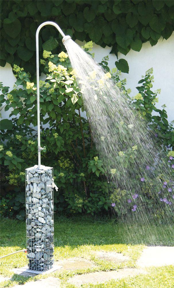 Die 25+ Besten Ideen Zu Gartendusche Auf Pinterest | Pool-dusche ... Dusche Im Garten Erfrischung Sommer