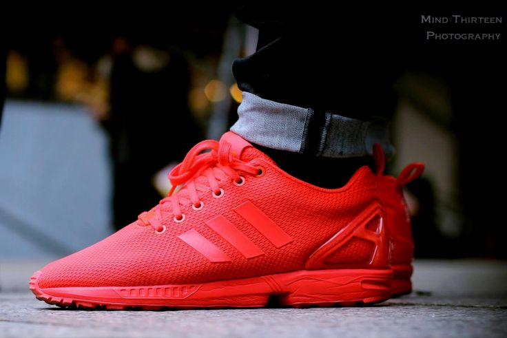 ec90a8f5e9f60 ... adidas red zx flux Adidas ZX Flux 2.0 Trainers USA Flag ...